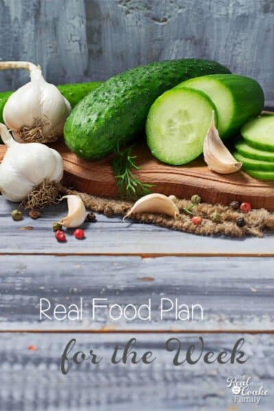 Great look at how one family plans healthy meals with simple recipes and natural or organic ingredients. Family of 4 is eating for around $100 a week!