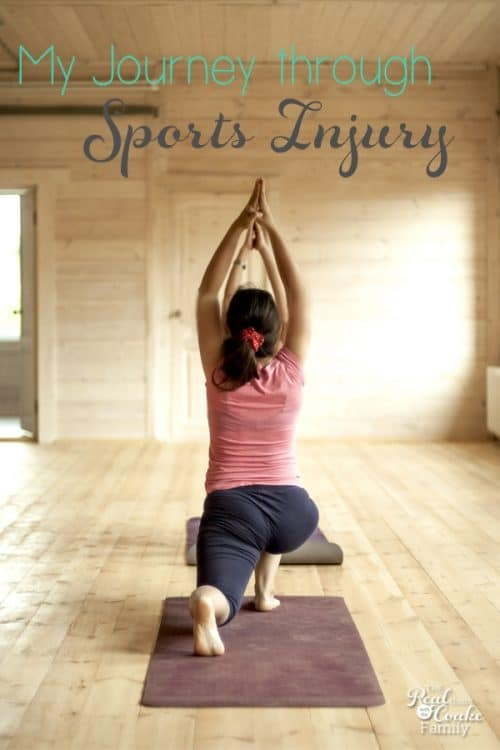 Insightful journey through Sports Injury and back to fitness, yoga, and running.