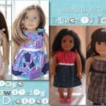 American Girl Drawstring Dress