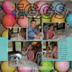 Digital Delights: Dyeing Easter Eggs