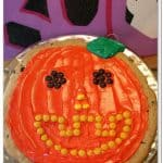 Cookie Recipe: Easy Pumpkin Decorated Chocolate Chip Cookie
