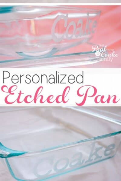 Great gift ideas to make personalized pans for each family. They will never lose their pans again. I need to make these for personalized gifts for Christmas!