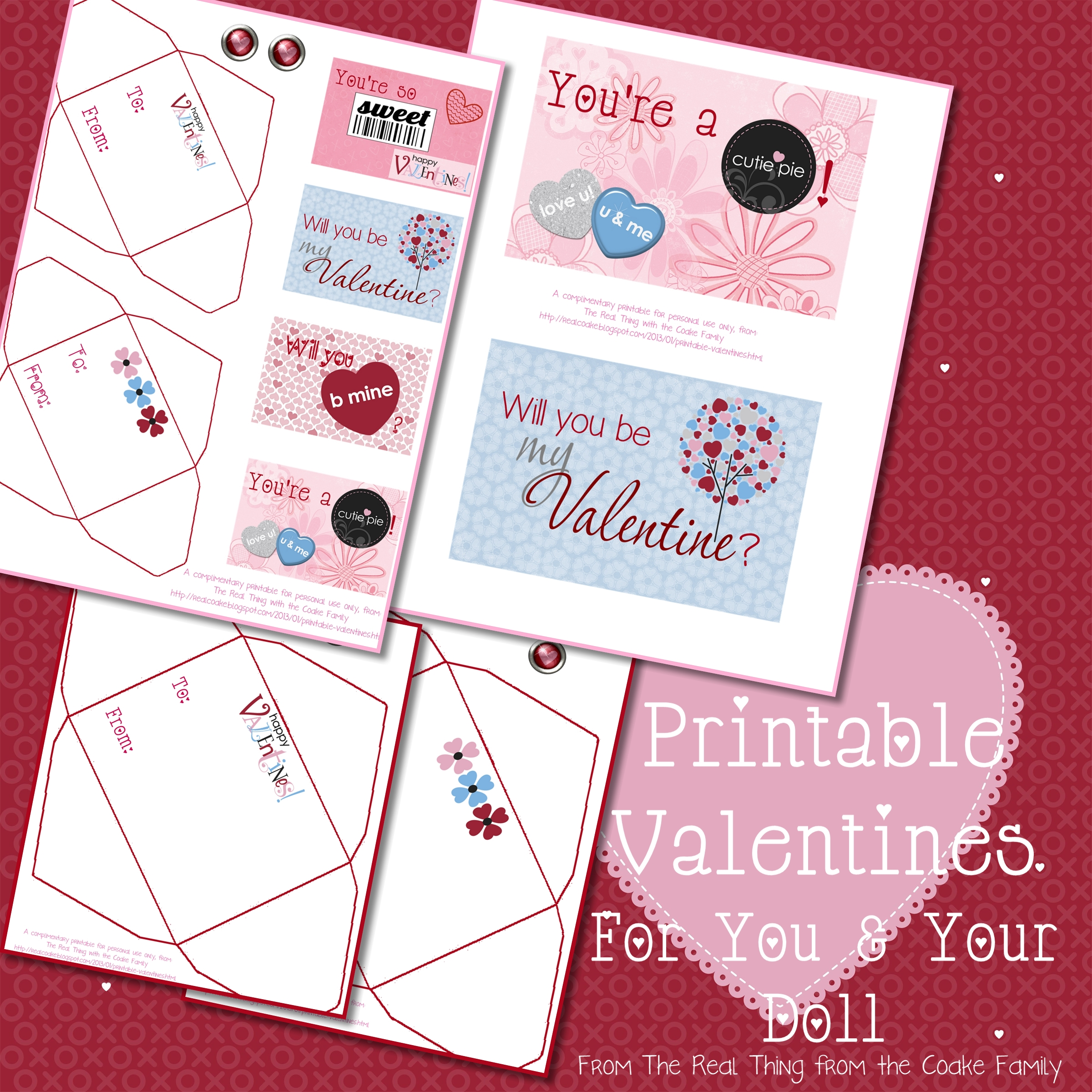 Valentine's Day Mega Fun with over 30 great Valentine's Day Ideas!! #Valentines #Crafts #Recipe #Printable