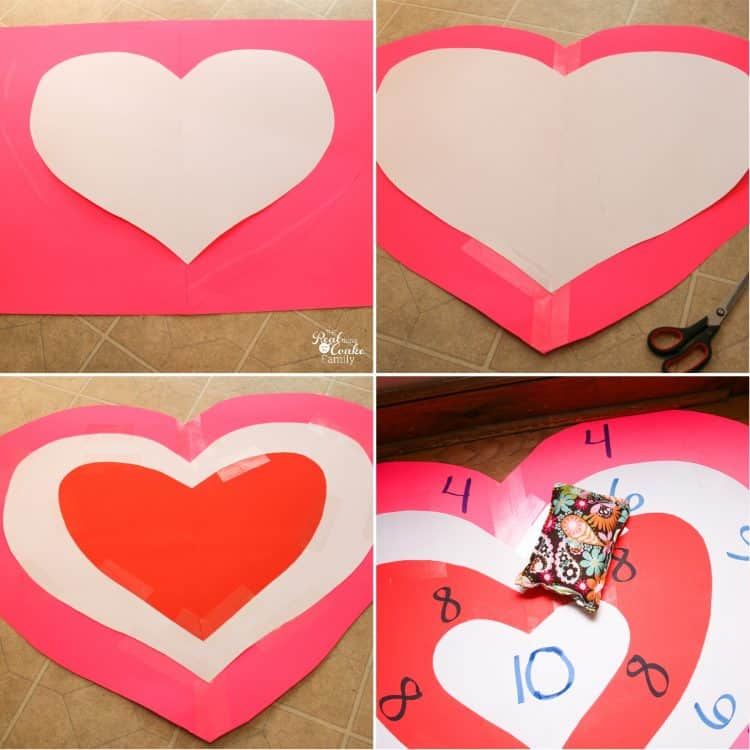 Valentine's ideas like this are perfect for our family. We can have some fun celebrating Valentine's day and have some fun together as a family. Looks easy, too!