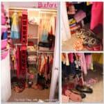 Kids Closet {Organizing Ideas}