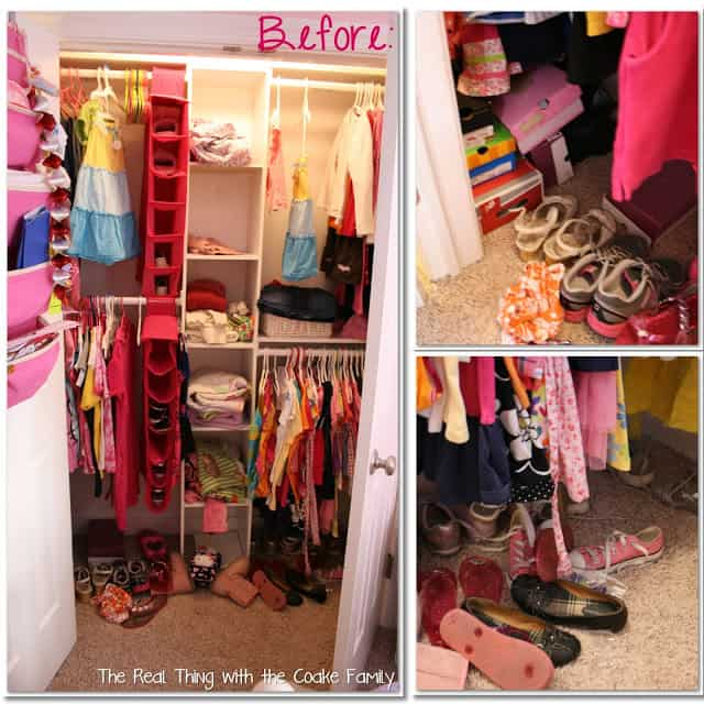 Kids closet organizing ideas the real thing with the for Kids room closet ideas
