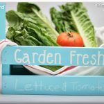 Teacher Gift Idea: Chalkboard Paint Veggie Crate