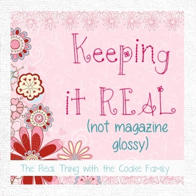 Keeping it Real - May 2013 from realcoake.com