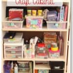 Craft Area Organization with Printable Labels