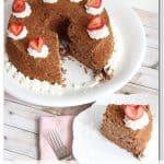 Chocolate Angel Cake {Angel Food Cake Recipe}