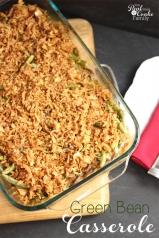 A delicious whole food recipe for Green Bean Casserole