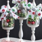 Christmas Apothecary Jars {Christmas Decorations}