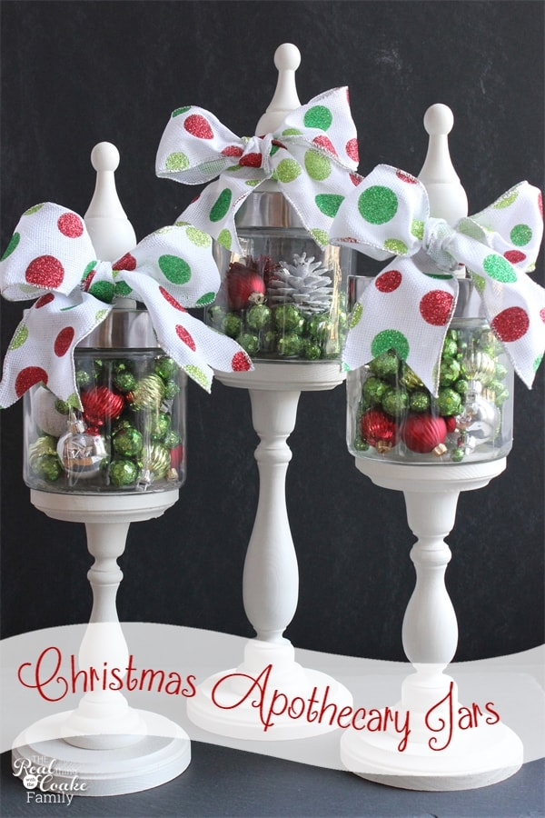Decorating Ideas > Christmas Apothecary Jars {Christmas Decorations}  The  ~ 195421_Decorating Christmas Jars Ideas