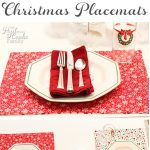 How to Make Christmas Placemats