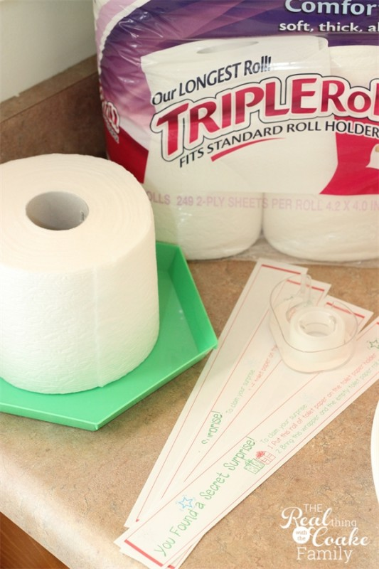 How to get the kids to change the toilet paper without losing your mind and coupons to help your mission from #RealCoake