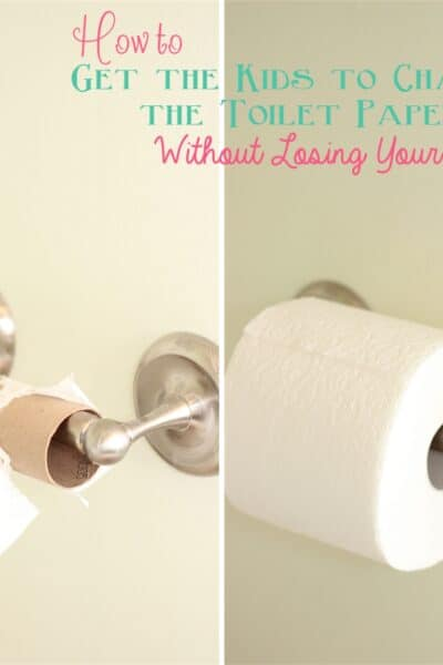 How to get the kids to change the #ToiletPaper without losing your mind and coupons to help your mission from #RealCoake