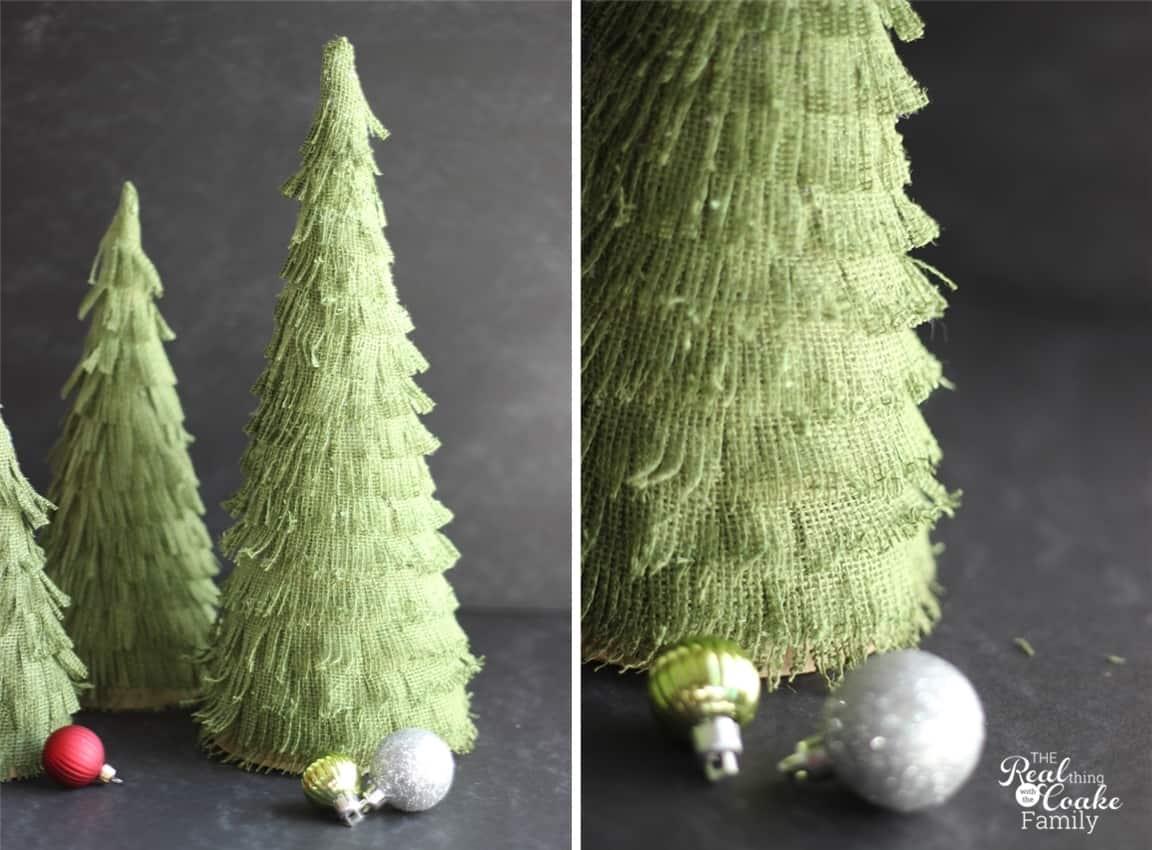 Make Your Own Adorable Burlap Christmas