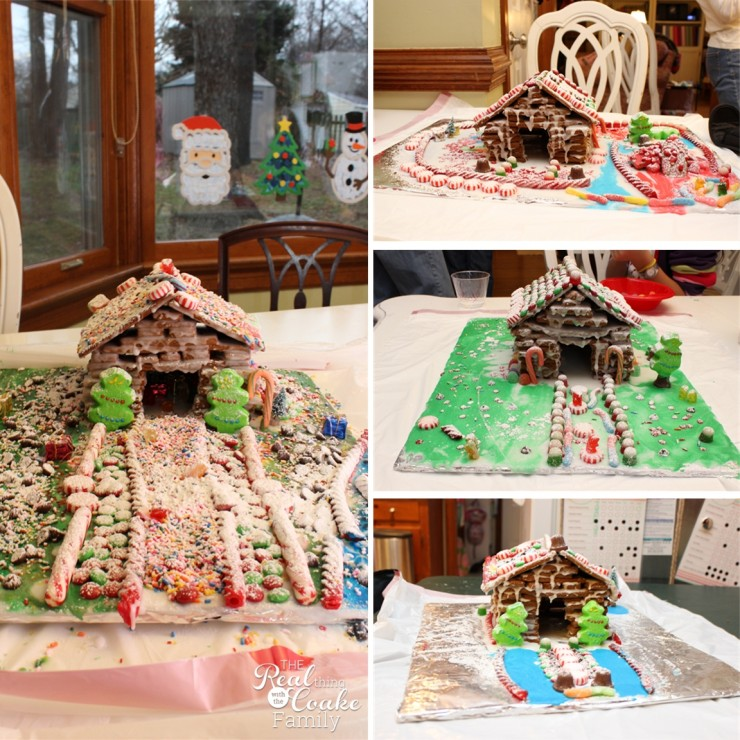 Merry Christmas from our family to yours! #Christmas #GingerbreadHouses