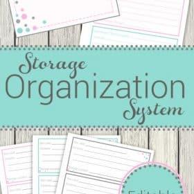 Storage Organization System
