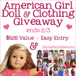 American Girl Doll Valentine's Giveaway