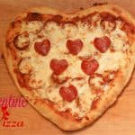 Family Dinner Ideas ~ Valentine Pizza