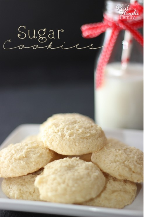 Sugar Cookies ~ An Old Fashioned Recipe