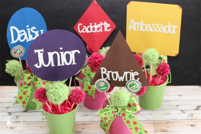 Girl scouts bronze award ceremony ideas the real thing for Award ceremony decoration ideas
