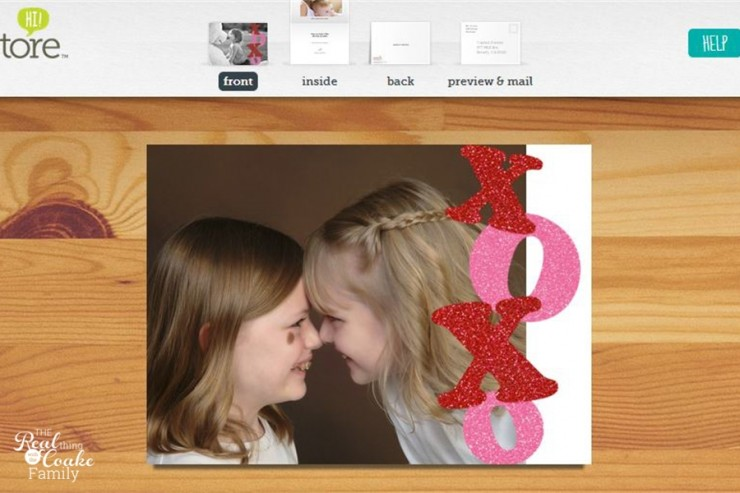 The easy way to quickly make heartfelt Valentine cards for your loved ones! #Valentines #Sponsored #OkaytoCry #MC
