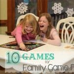 10 Spectacular Games for a Family Game Night