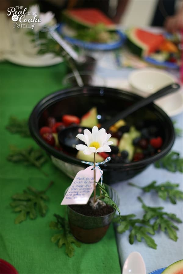 Daisy Girl Scouts ideas for the Flower Garden Journey celebration. Cute and simple ideas to implement. #GirlScouts #DaisyGirlScout #Daisy #Journey #RealCoake