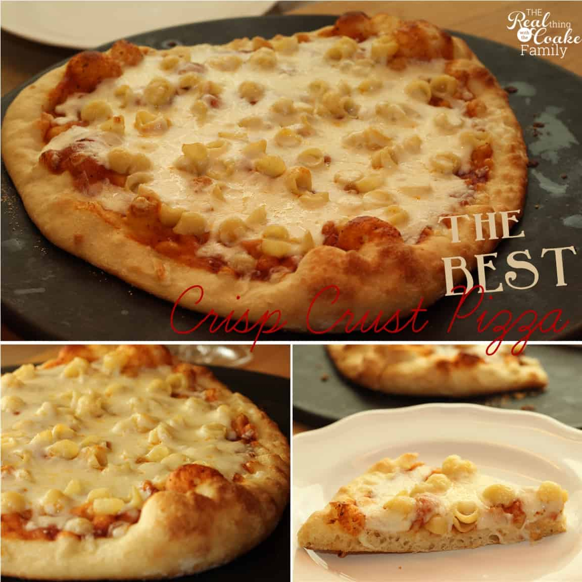 How to make pizza ~ The best way to make pizza at home so you get a delicious crisp crust. Yum...can't wait for dinner! #Recipe #Pizza #HowtoMakePizza #RealCoake