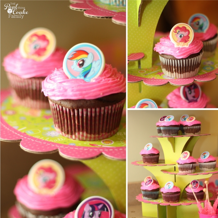 My Little Pony Birthday party ~ Great ideas for food and decorating for a My Little Pony Party! #MyLittlePony #MLP #Birthday #Party #RealCoake