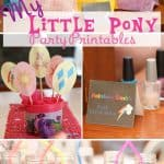 My Little Pony Birthday Party ~ Printables