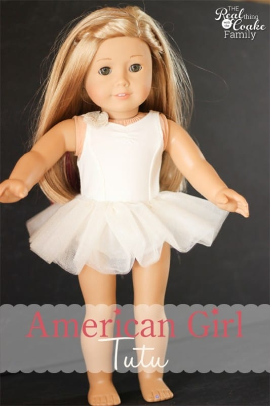 American Girl Doll Clothes Pattern to Make Isabelle's Tutu from The ...