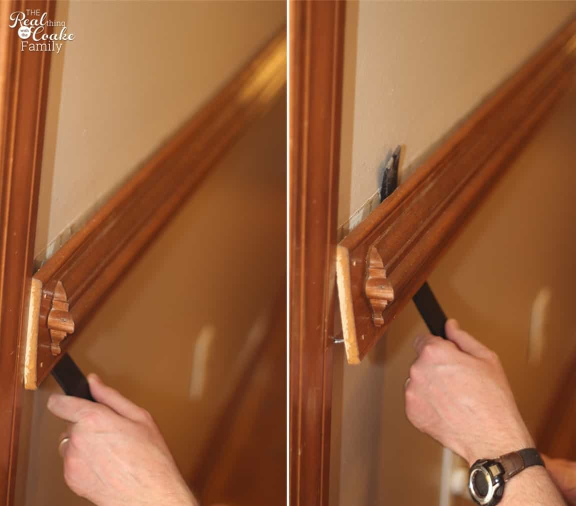 How To Remove Chair Rail ~Part 1