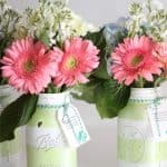 Gift Ideas ~ Make Gorgeous Mason Jar Vases