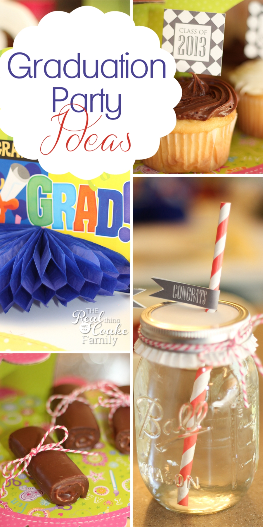 Quick, Easy and Cute Graduation Party Ideas » The Real ...