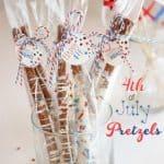 Patriotic Pretzels ~ 4th of July Recipes