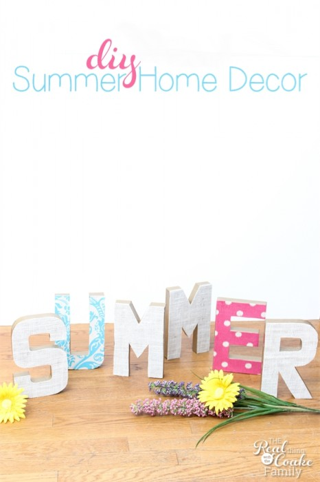 Make A Gorgeous Summer Statement With Diy Home Decor