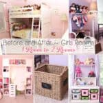 Girls Bedroom Ideas ~ Moving My Girls from 1 Room to 2 Rooms