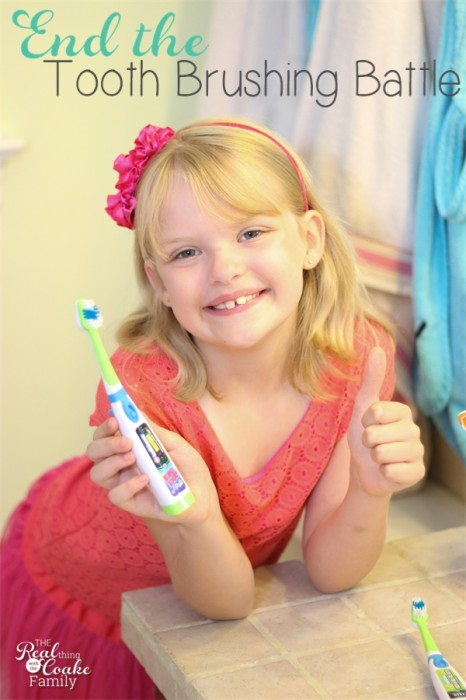 Great idea for ending the tooth brushing battles in our house. Get kids brushing teeth the fun way! #BrushingTeeth #Kids #ToothTunes #ad