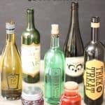 Wine Bottles Make Easy Halloween Crafts