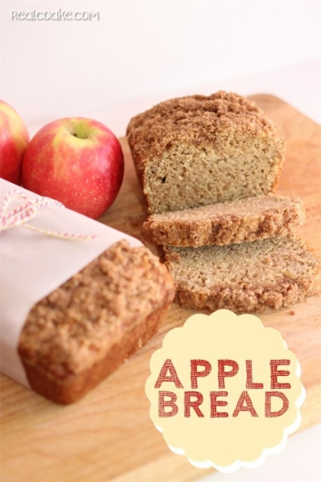 apple bread loaf