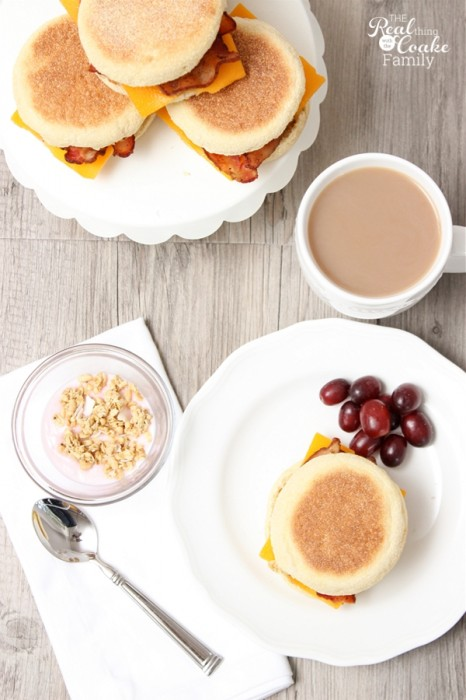 Are your mornings rushed like mine? I've found breakfast recipes that help make the morning easier...like this one for the most amazing freezer breakfast sandwiches. Easy and Yummy!