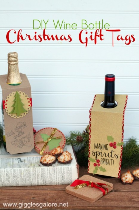Over 15 great gift ideas for the holidays or anytime for Diy wine bottle gifts