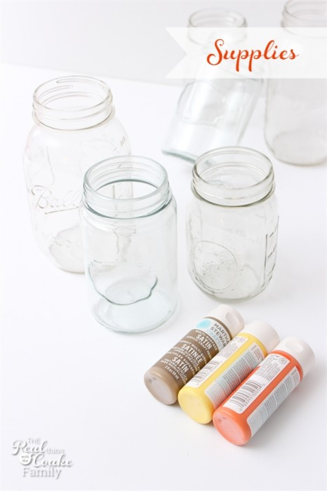 I love these fall mason jars (and any mason jar crafts)! They were a total craft fail that  were turned around with some burlap, twine and flowers. You have to see the difference!