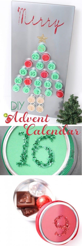 Diy Reusable Advent Calendar : Beautiful diy reuseable advent calendar