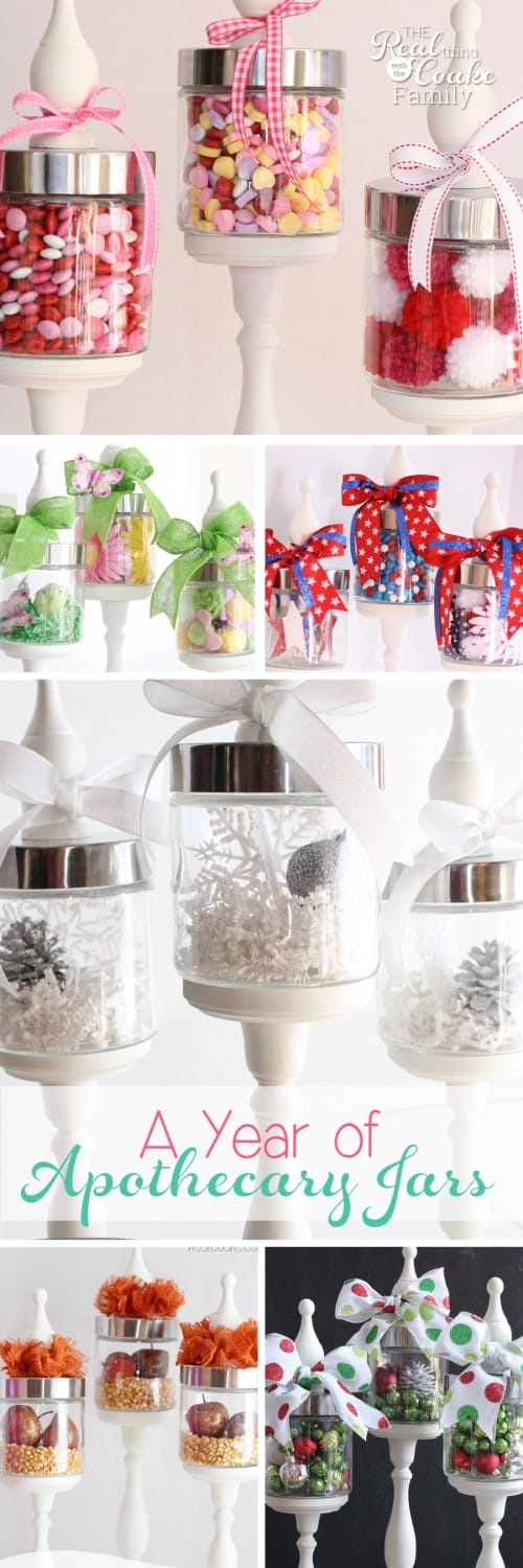 decorating ideas a year of apothecary jars