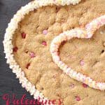 Delicious Valentine's Day Chocolate Chip Cookies