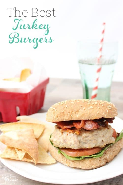 This is seriously the best Turkey Burger Recipe I have tried. It is moist, flavorful and easy to make. Love recipes like that!